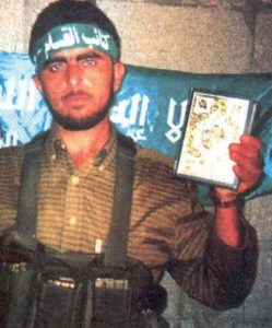 Al Masri in Hamas Regalia