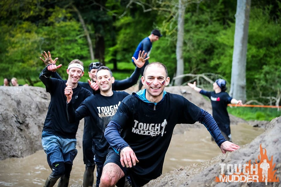 The Malki Foundation team for Tough Mudder