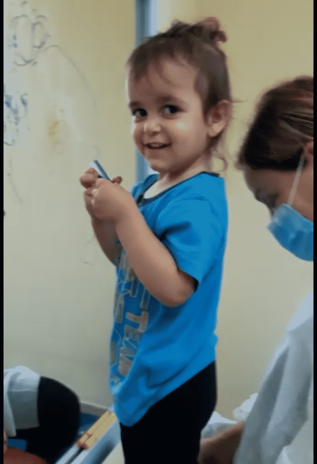 boy receiving physiotherapy